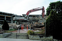 Blackburn Excavating Ltd in Salmon Arm, BC, offers building demolition services.